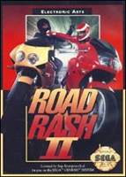 Photo de la boite de Road Rash 2